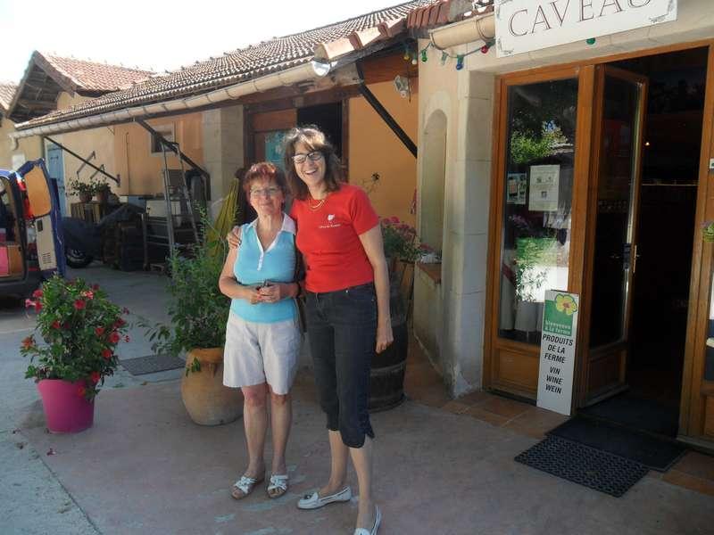 visite au Domaine Bastide Jourdan