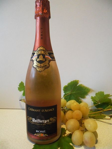 Wolfberger crémant ROSE